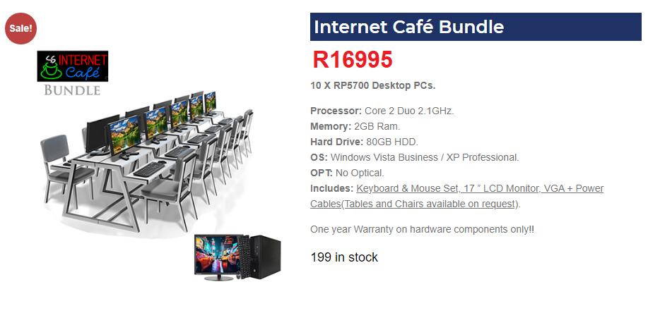 Laptops, Servers, Desktops, Websites, Emails, Hosting