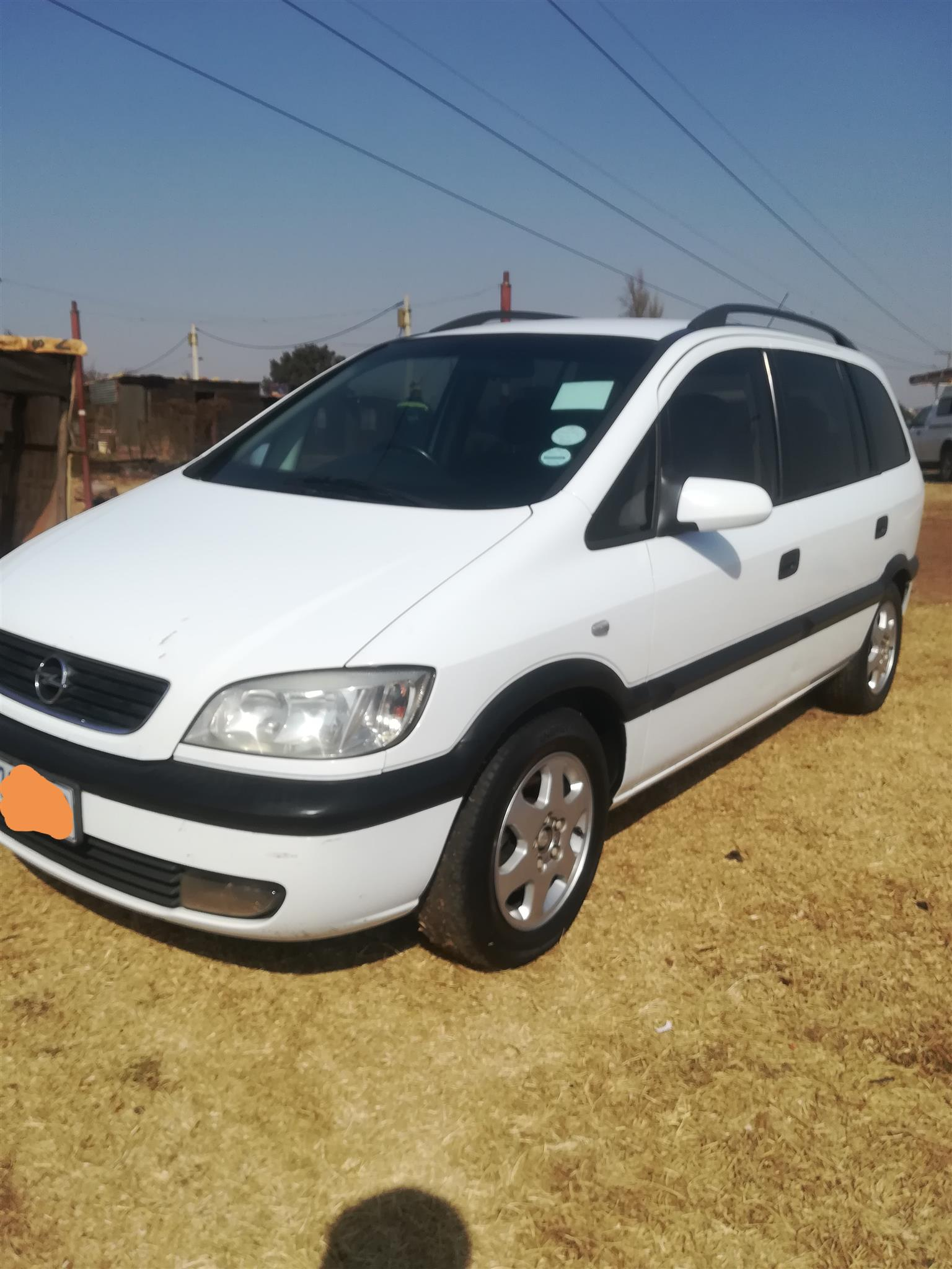 2003 Opel Zafira 1.6 Essentia