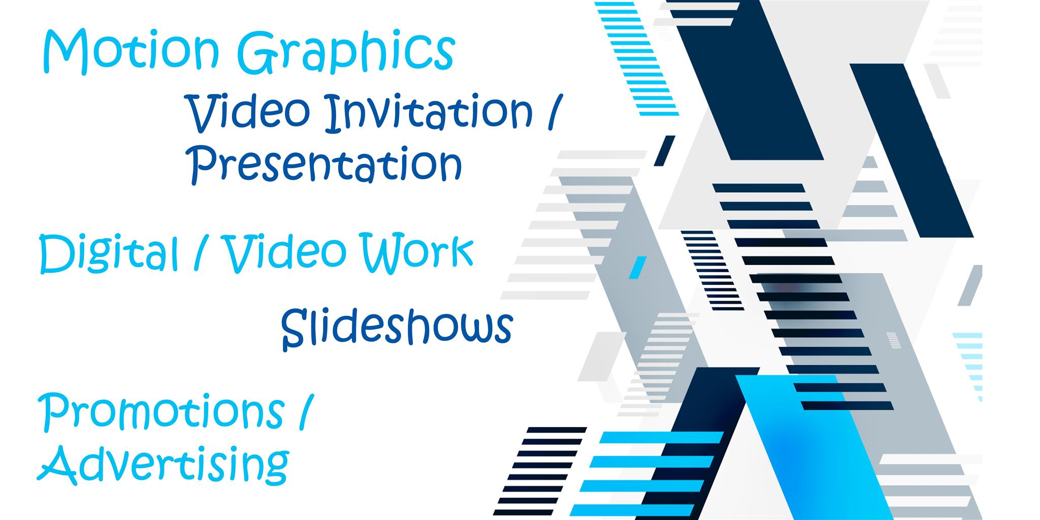 Graphic design / Motion graphics and other related services and products