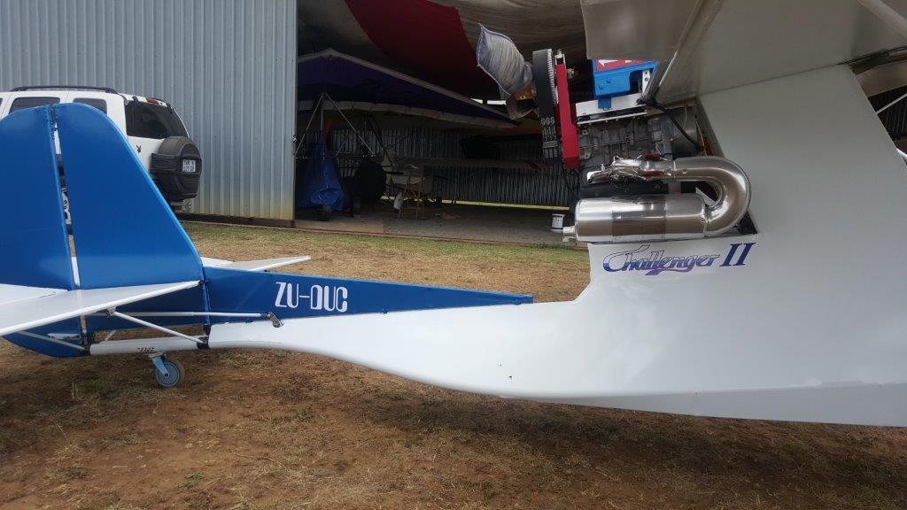 Challenger II - Rotax 503, Duel Ignition, duel Carb & Belt Drive.