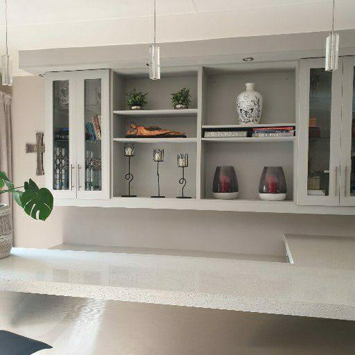 granite countertop bar