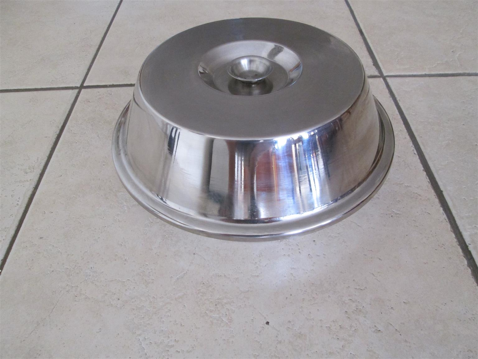 New Stainless Steel 3 Division Vegetable Dish
