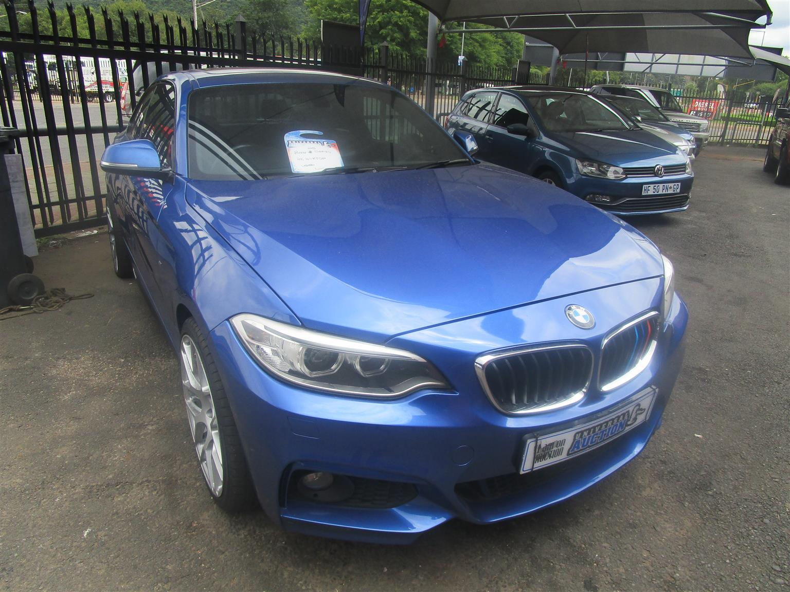 2017 BMW 2 Series 220i coupe M Sport