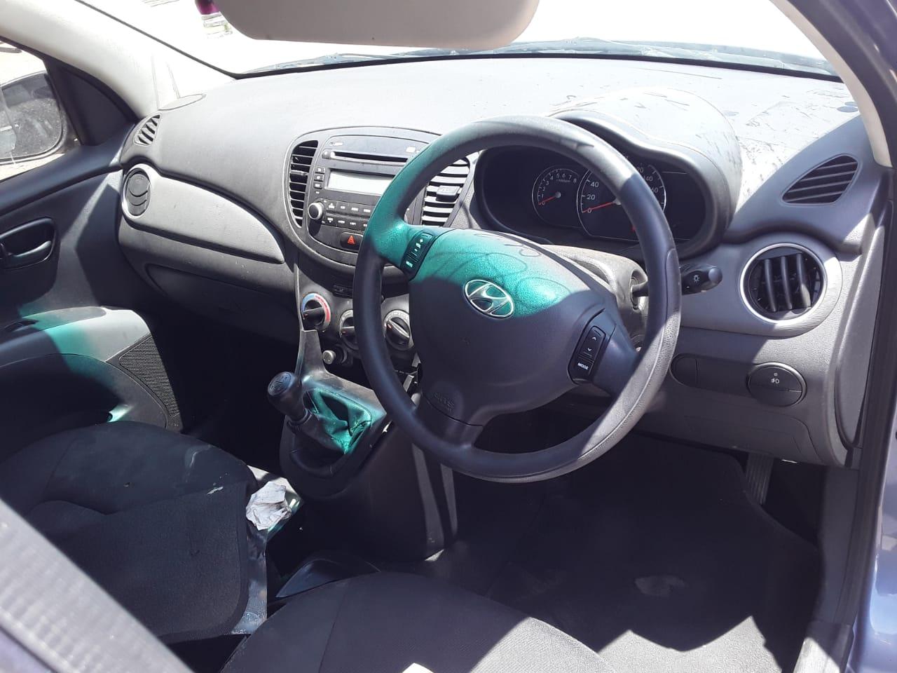 Stripping Hyundai I10 For Parts