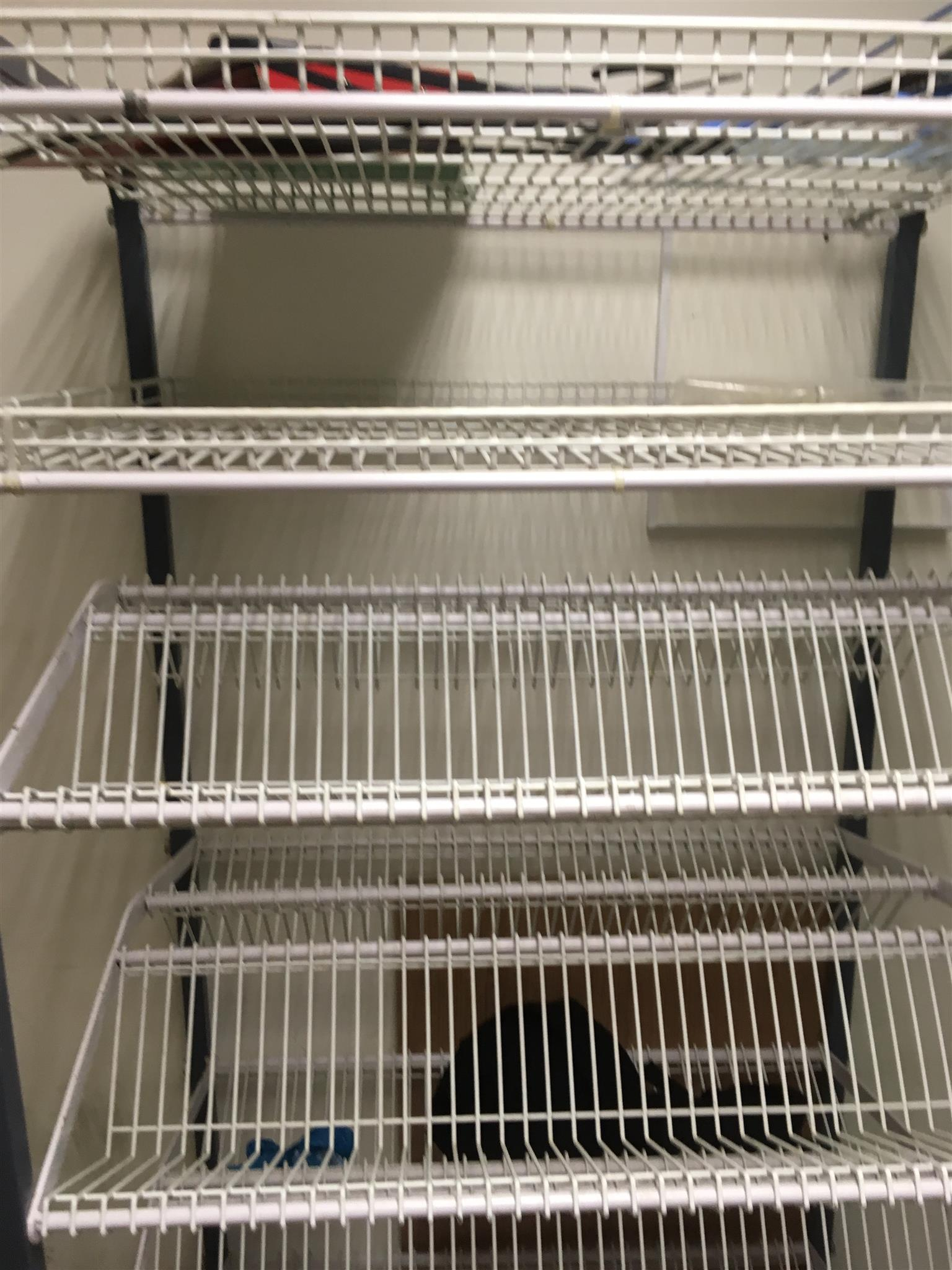 Commercial dish dry rack