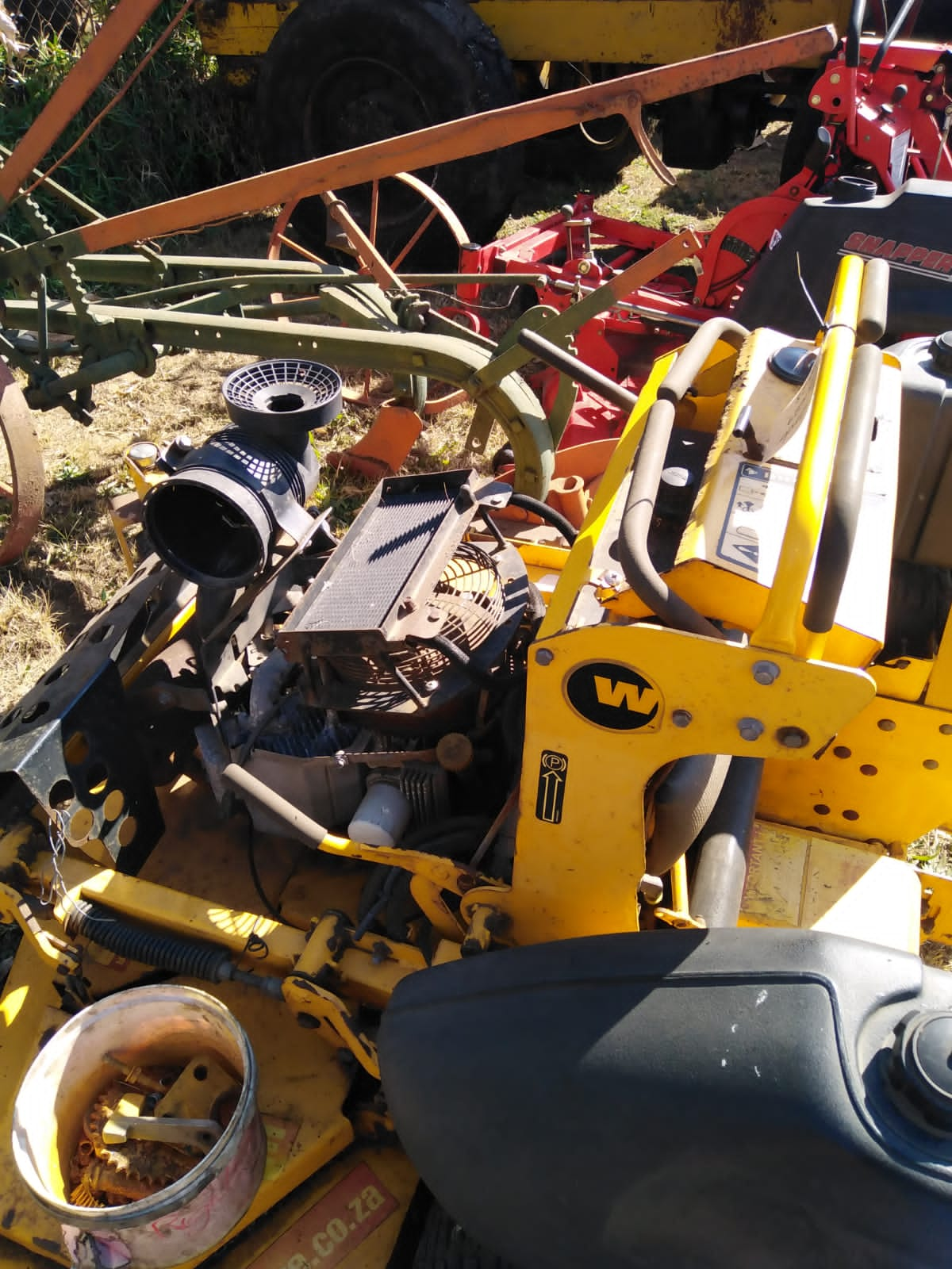 Industrial lawnmower spares for sale