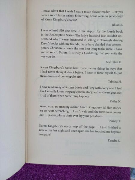 Take Four - Karen Kingsbury - Above The Line Series #4.