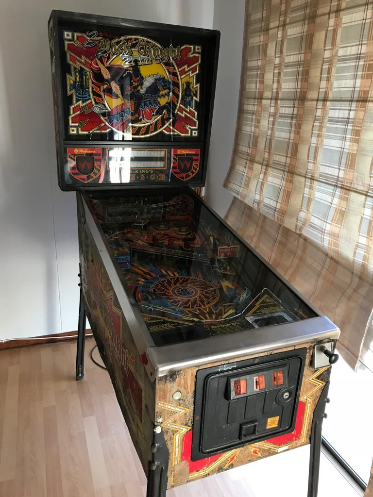 Black Night 2000 Pinball Machine - for sale