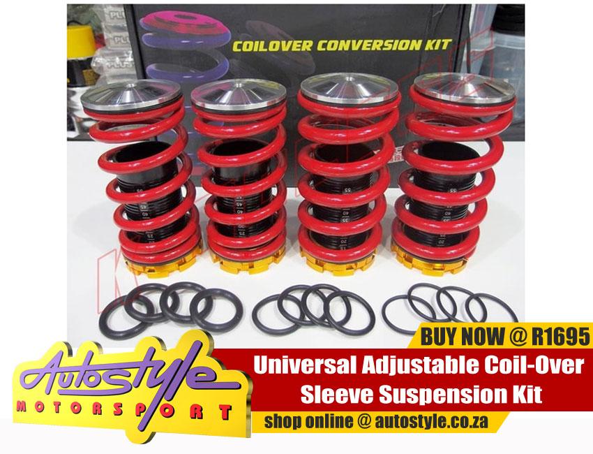 Universal Adjustable Coil-Over Sleeve Suspension Kit