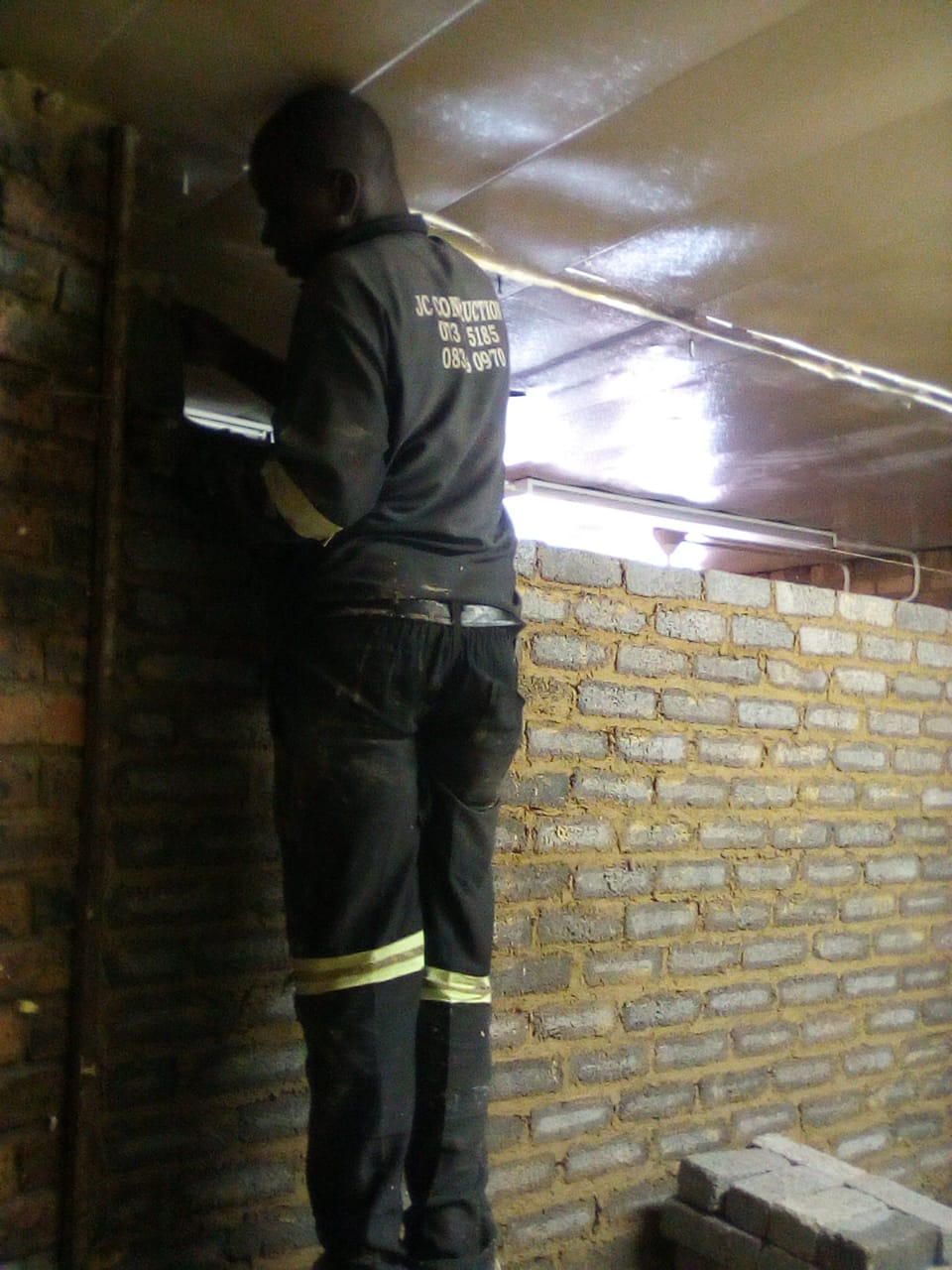 We do waterproofing,torch-on,renovations,building,tiling,paving,plastering,drywalling,painting etc