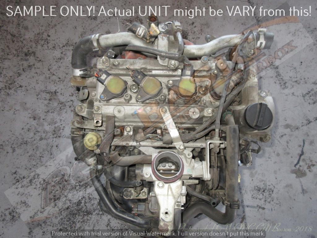 DAIHATSU -3SZ 1 5L VVTI RWD Engine -Terios / Grand Max | Junk Mail