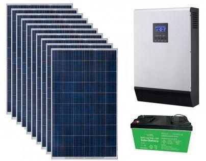 1kVA Grid Interactive Hybrid Solar Inverter System