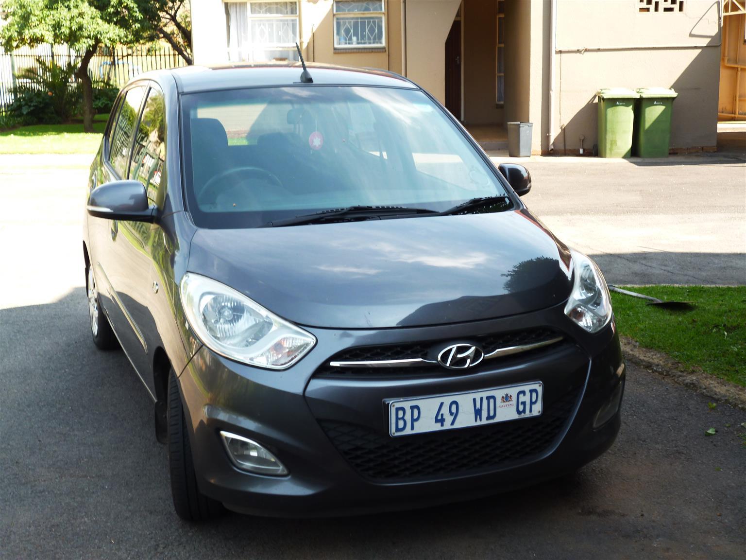 2011 Hyundai i10 1.2 GLS high spec