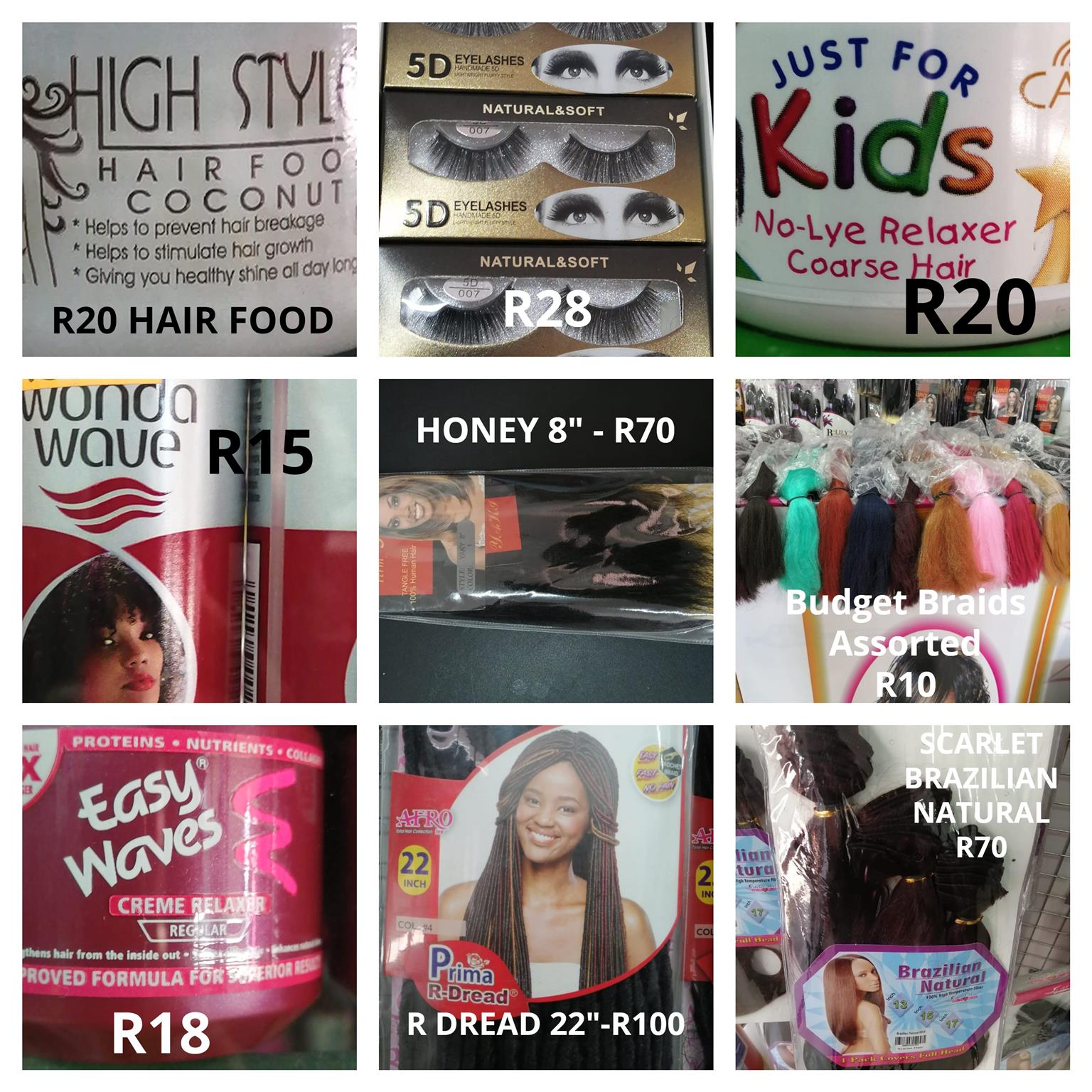 A WIDE RANGE OF AFFORDABLE WEAVES AND HAIR ACCESSORIES FOR SALE