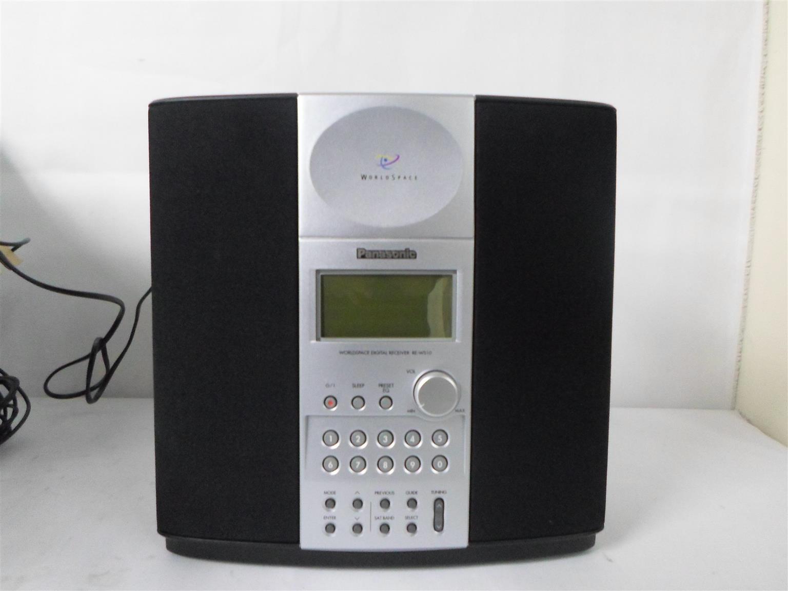 Panasonic RE-WS10 Digital Receiver