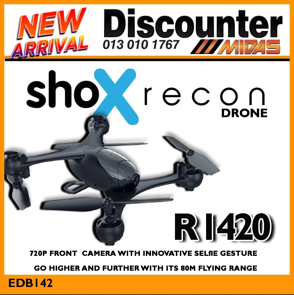 Shox Recon Drone ONLY R1420!