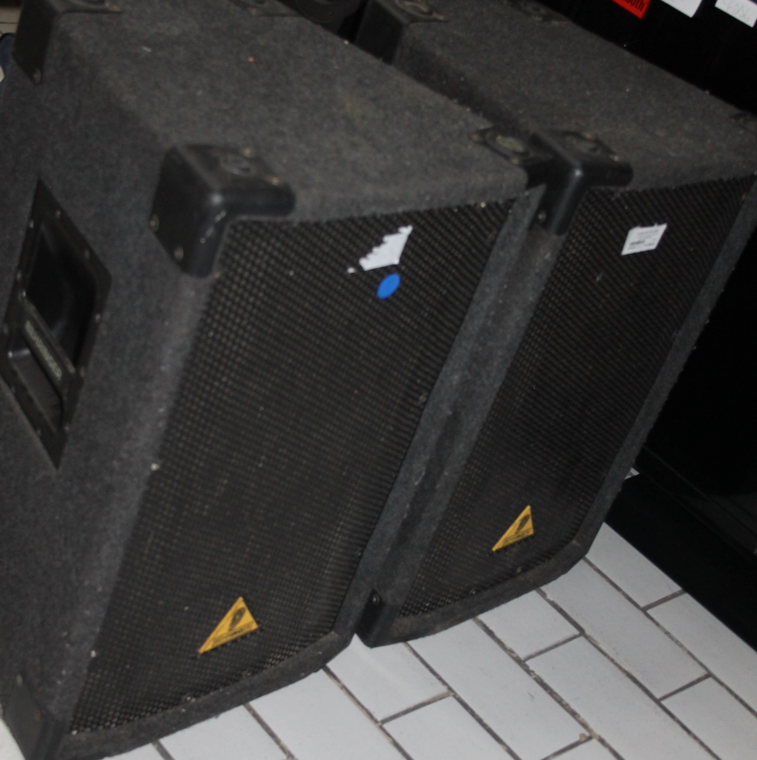 S034254A 2 X Behringer b1220 2 way pa loud speakers #Rosettenvillepawnshop