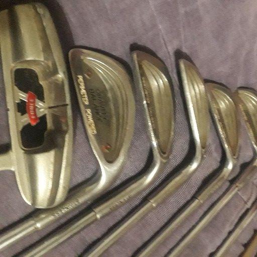 golf sticks x 10