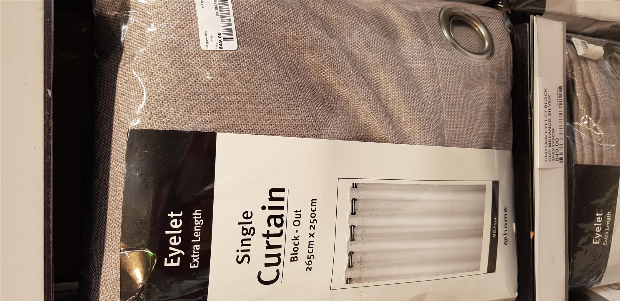Brand new at home curtains