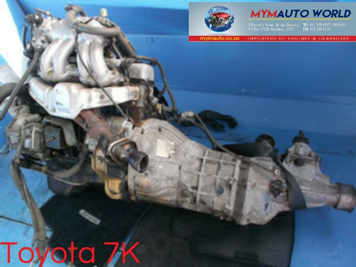 Imported used  TOYOTA LITE ACE 1.8L, 7K engines Complete