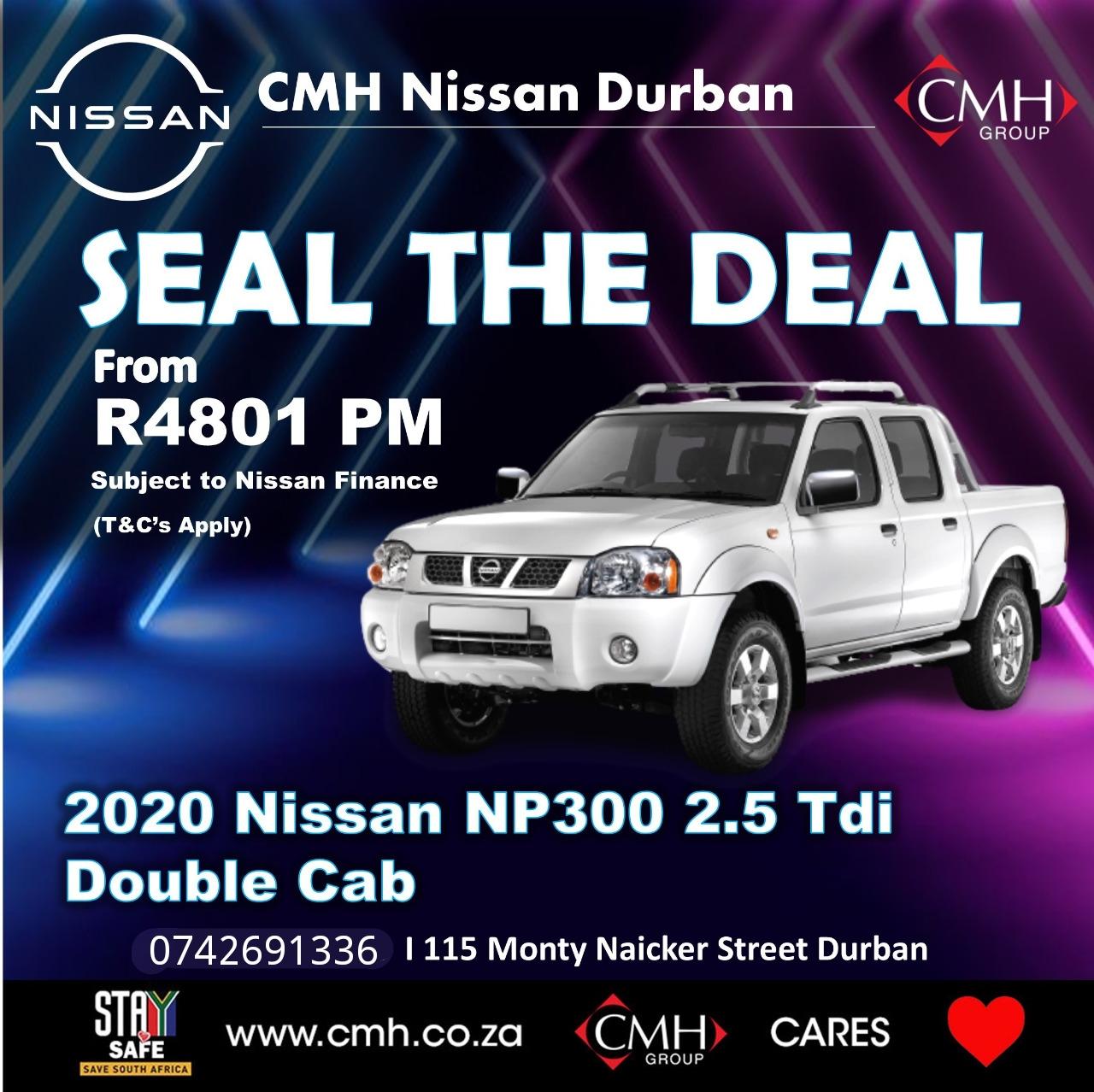2020 Nissan NP300 Hardbody 2.5TDi double cab