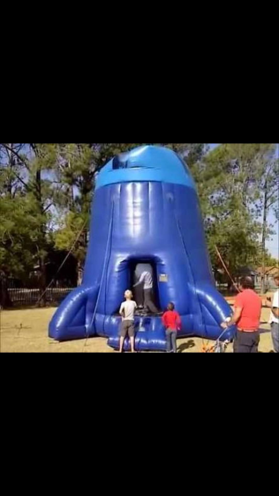 Inflatable Rocket Shoot