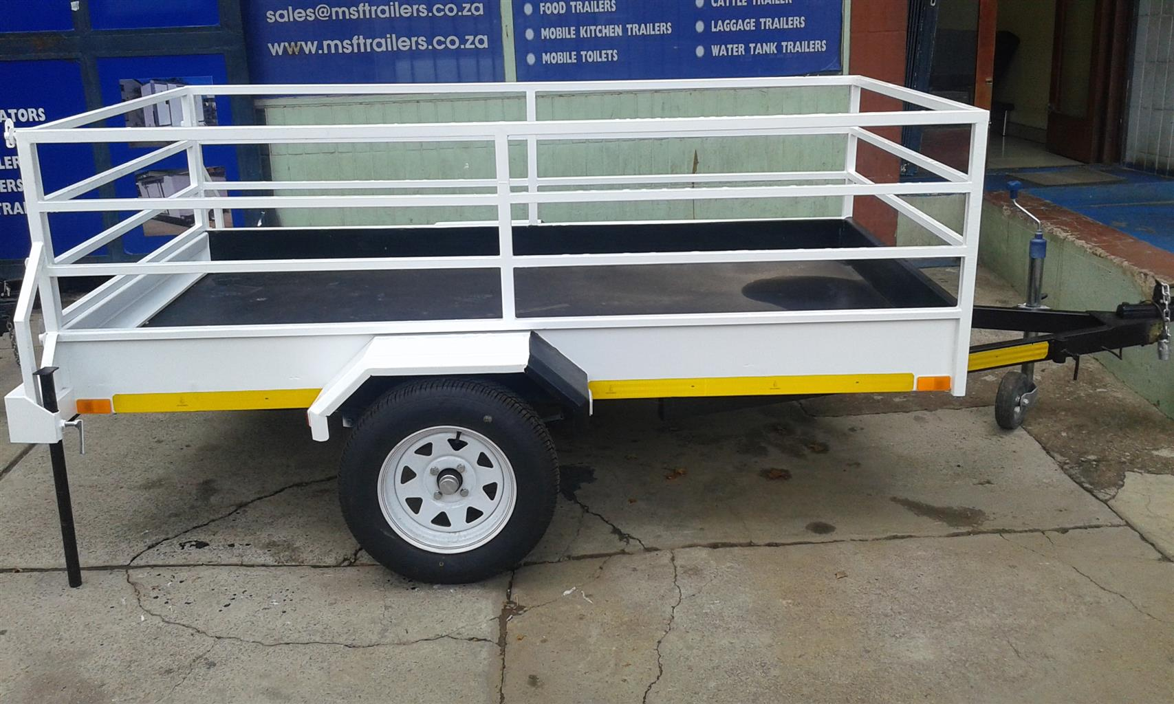 2m Luggage Trailer