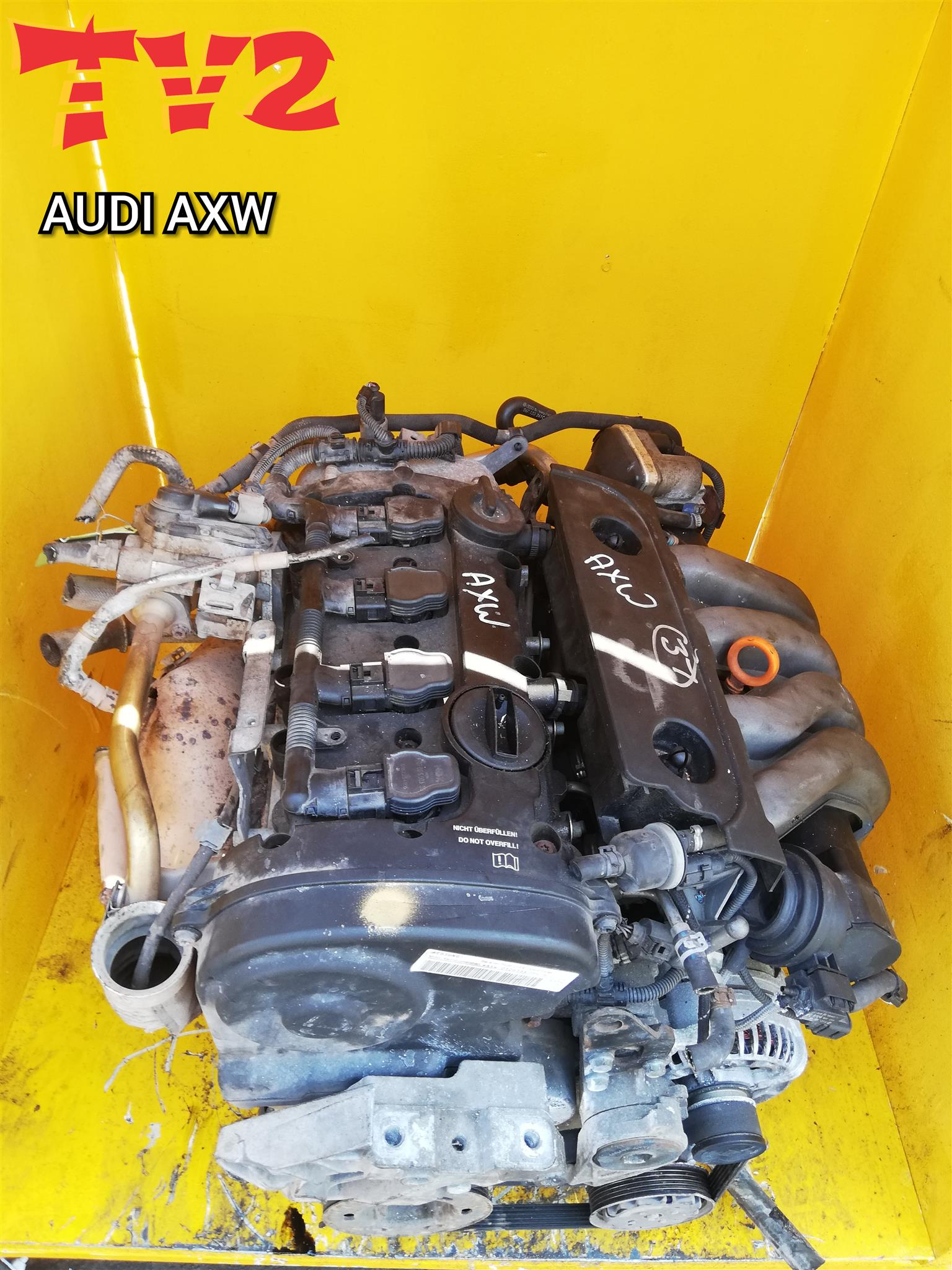 AUDI- AXW ENGINE FOR SALE