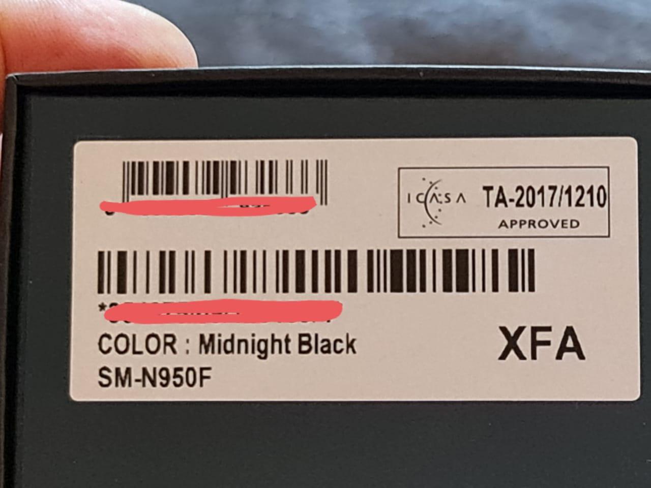 Samsung Galaxy Note 8 - Refurbished