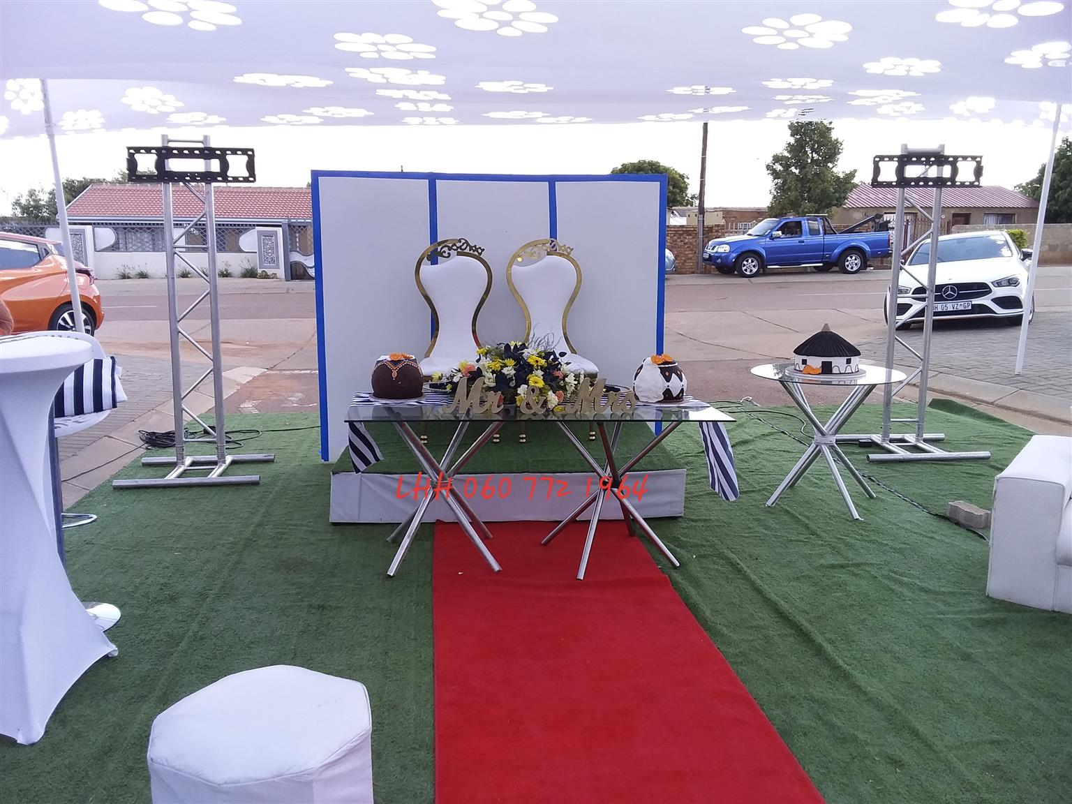Party decor & catering services