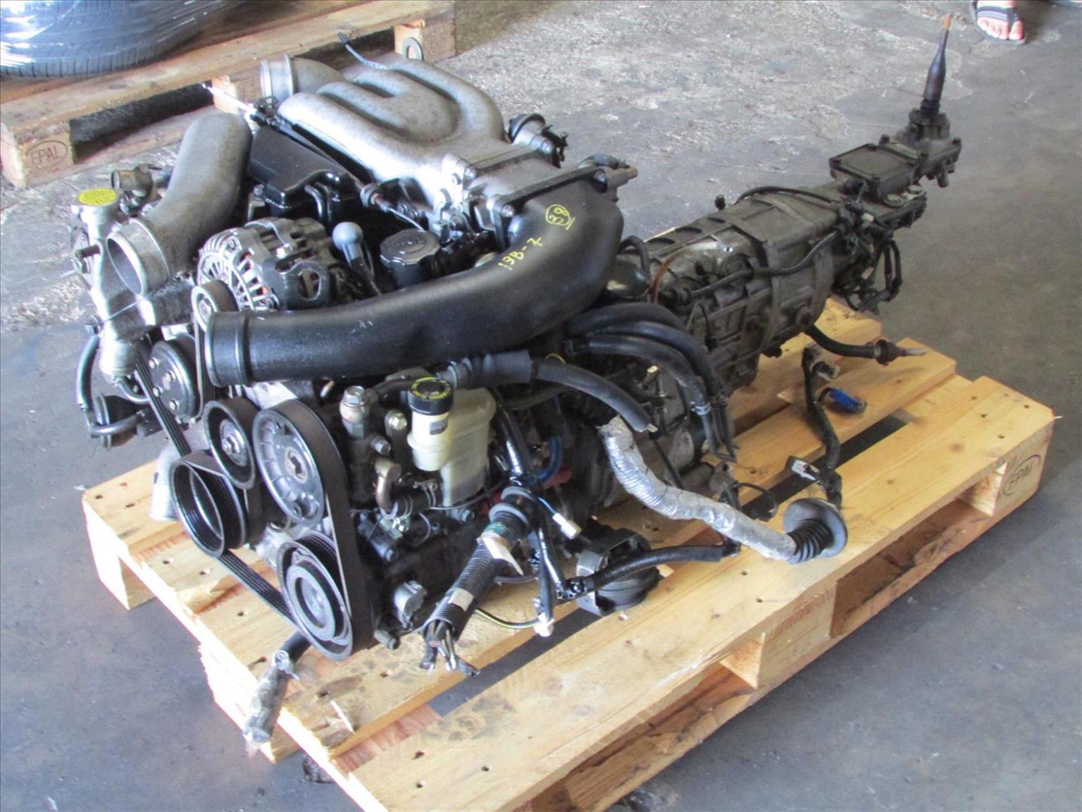 Mazda Rx7 Fd3s Twin Turbo 13b Rotary Engine 5 Speed Manual Trans 6 Parts Diagram