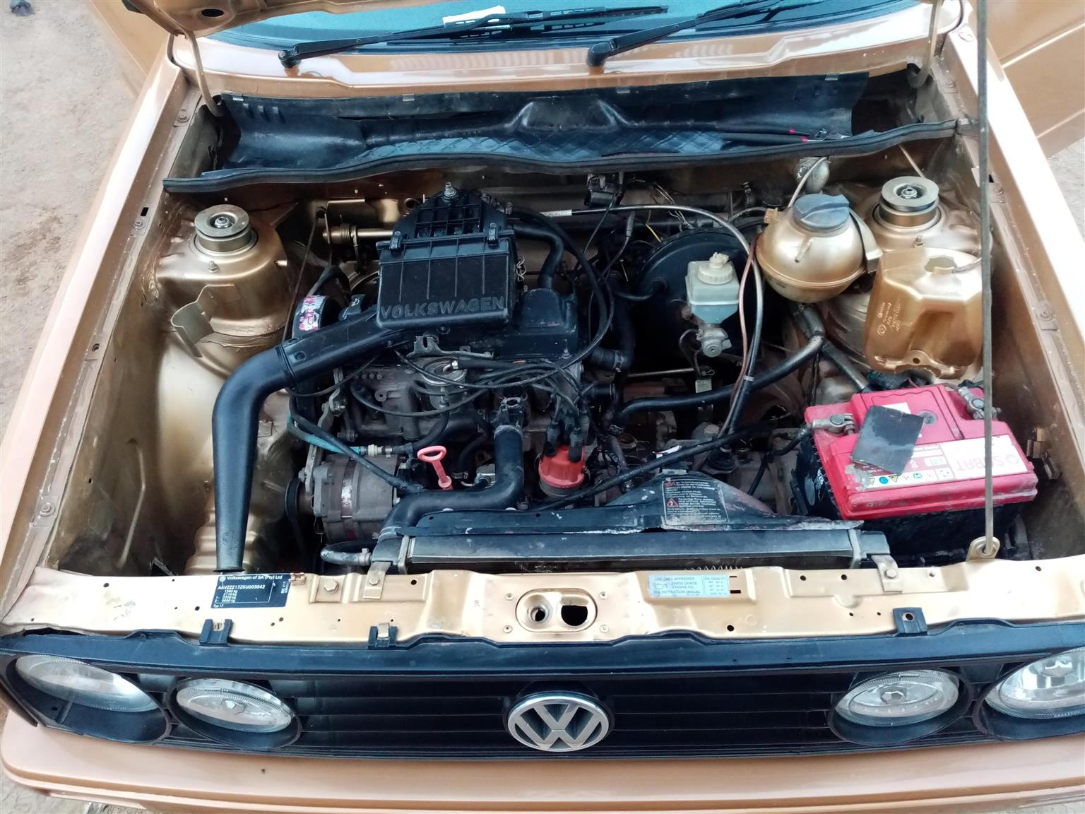 2005 VW Citi Tena 1.4