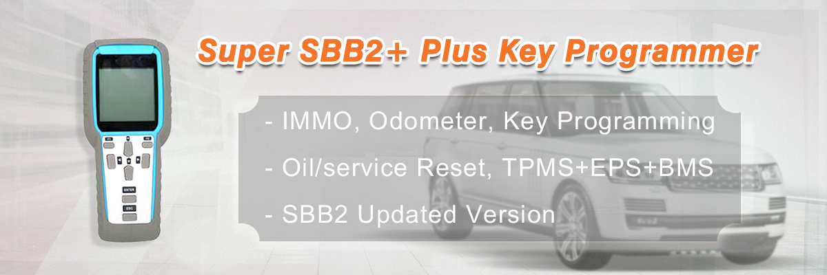 Auto Key Programmer Supports IMMO / Odometer and OBD2 diagnostic Software Super SBB2 PLUS