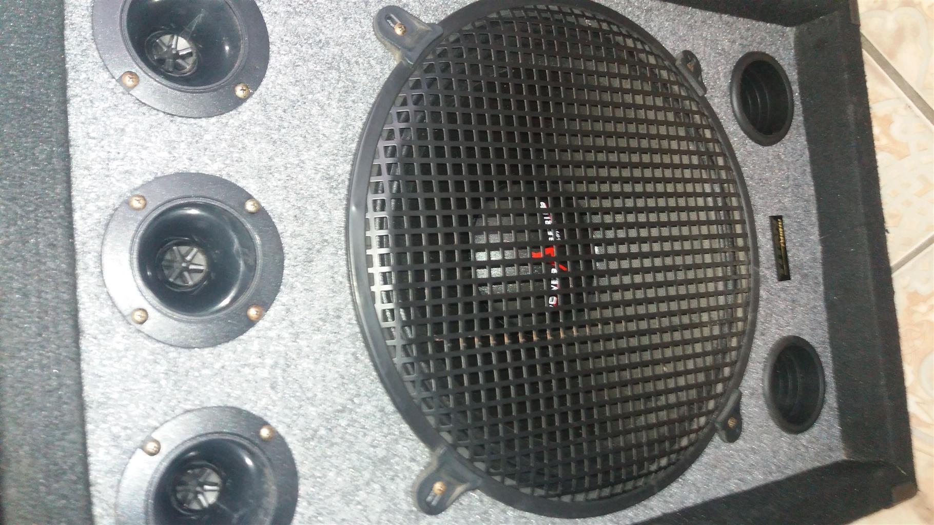 High Powered Speakers