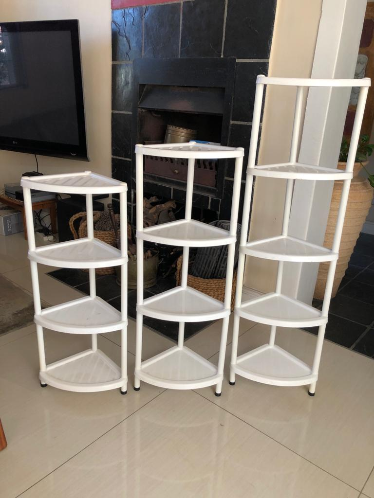 All-purpose storage Whatnot / Corner caddy units - 3 available-see prices below
