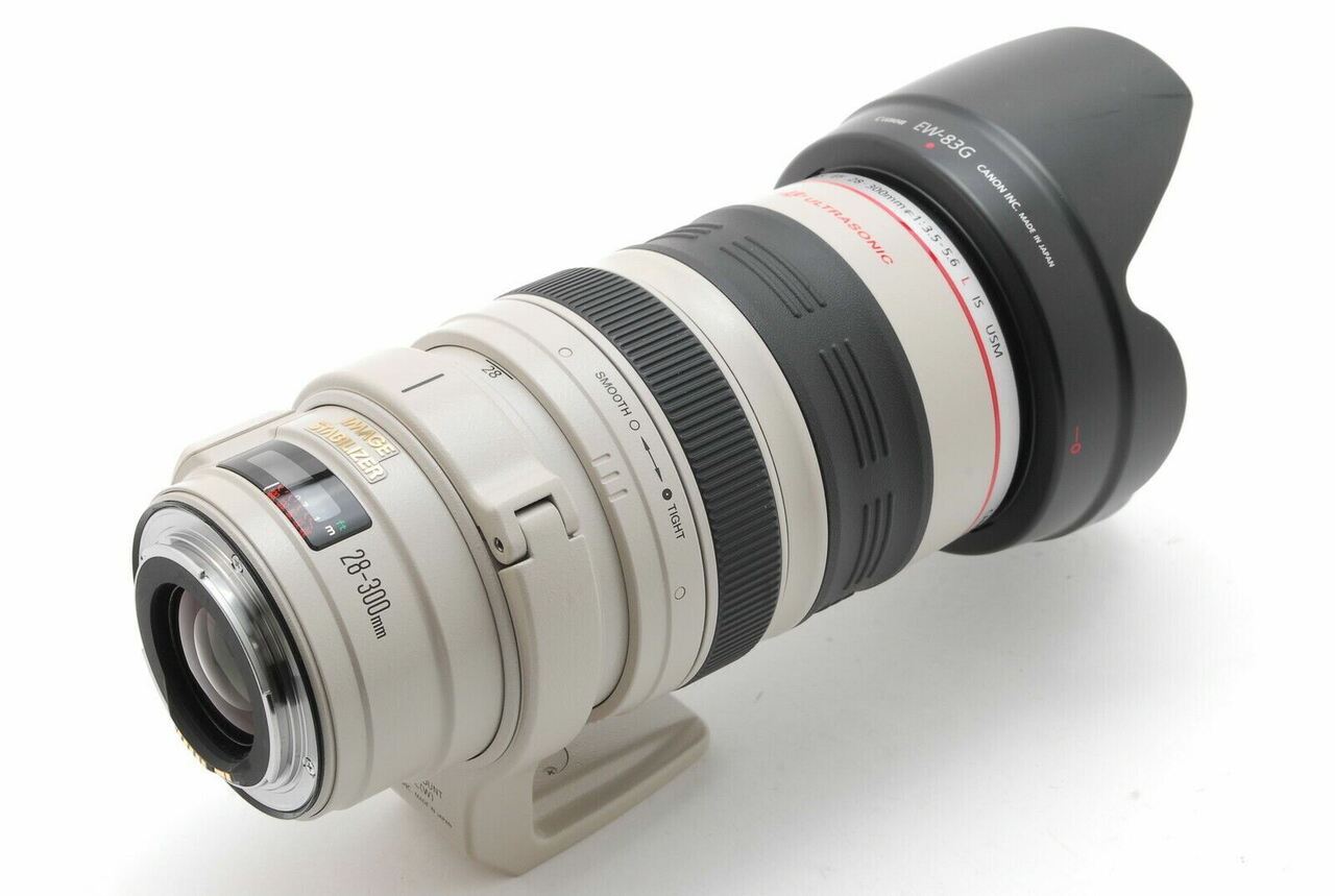 Canon EF28-300mm; f/3.5-5.6L IS USM Telephoto zoom lens