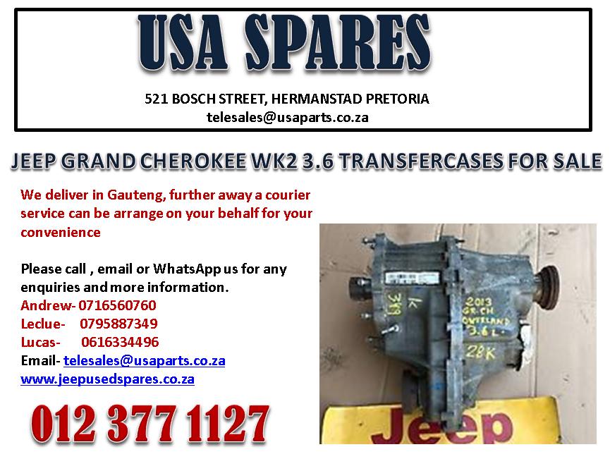 JEEP GRAND CHEROKEE WK2 3.6 TRANSFER CASE FOR SALE
