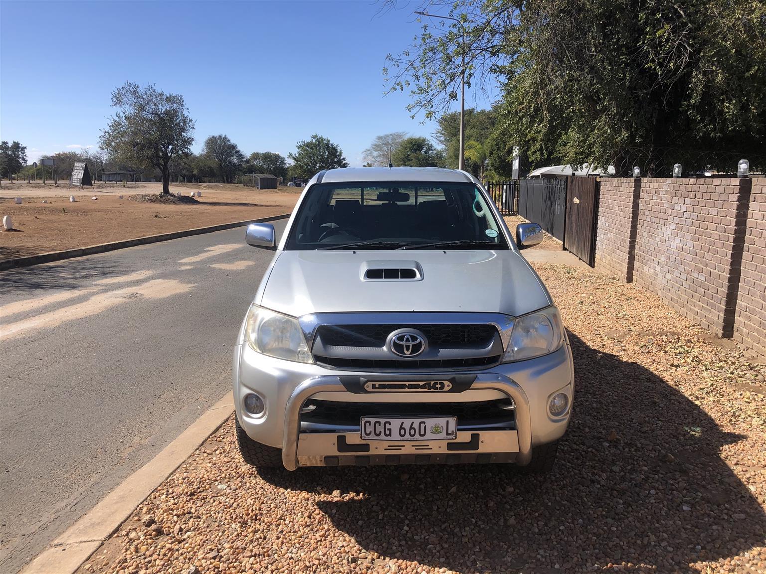 2010 Toyota Hilux 3.0D 4D Raider Legend 40
