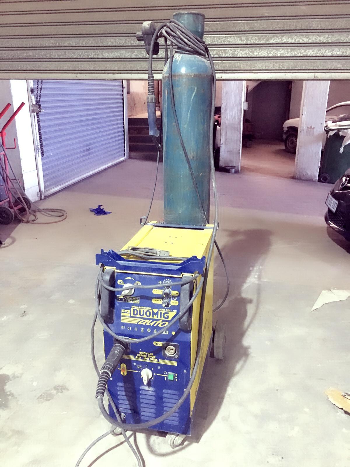 Aluminum brazing machine hardly used