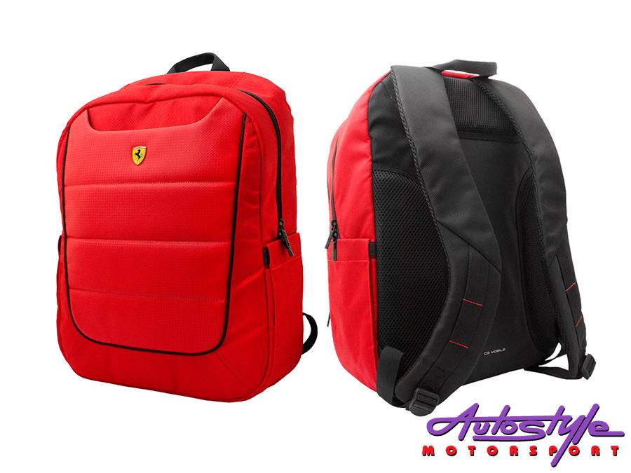 Ferrari Scuderia Rucksack Backpack  Ferrari backpack is the stylish Ferrari rucksack