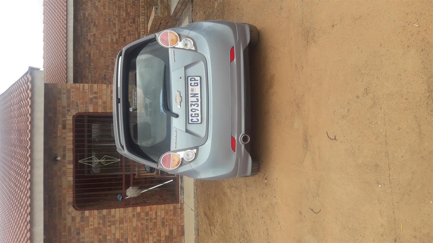 2012 Chevrolet Spark 1.2 LS Sport