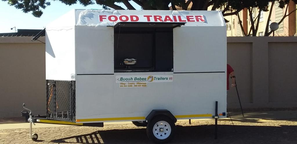 3.5m Single Axle Mobile Kitchen Trailer