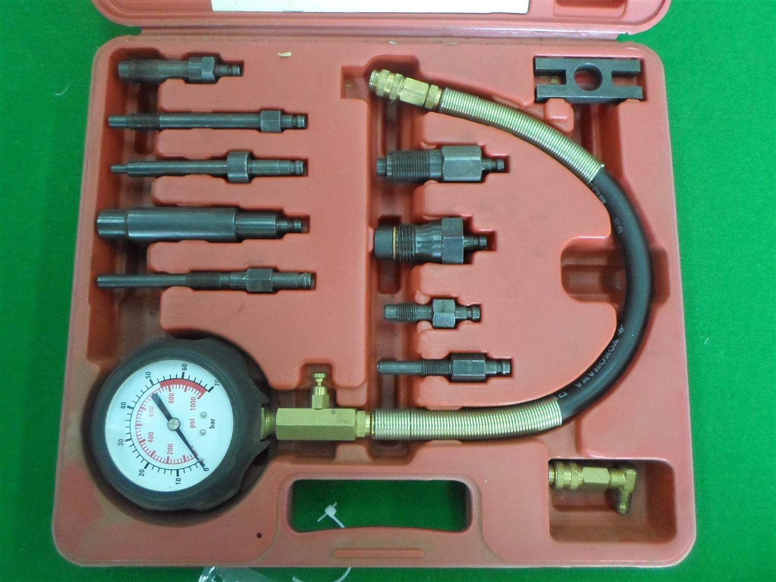 Petrol Engine Compression Tester Set