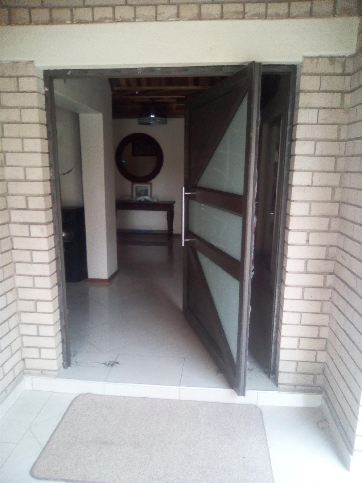 Garage doors, Aluminium doors and windows