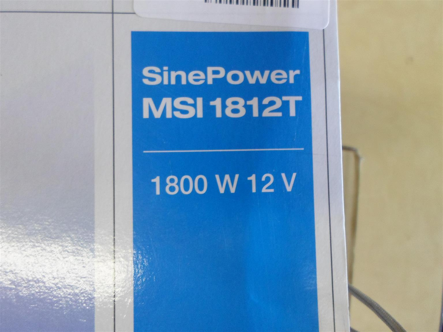 SinePower MSI 1812T Inverter (12V-230V)
