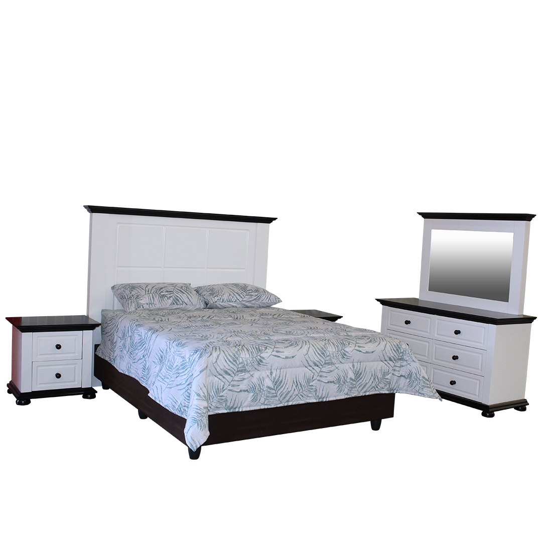 BEDROOM SUITE SUBURBAN 5 PIECE BRAND NEW FOR ONLY R13599!!!