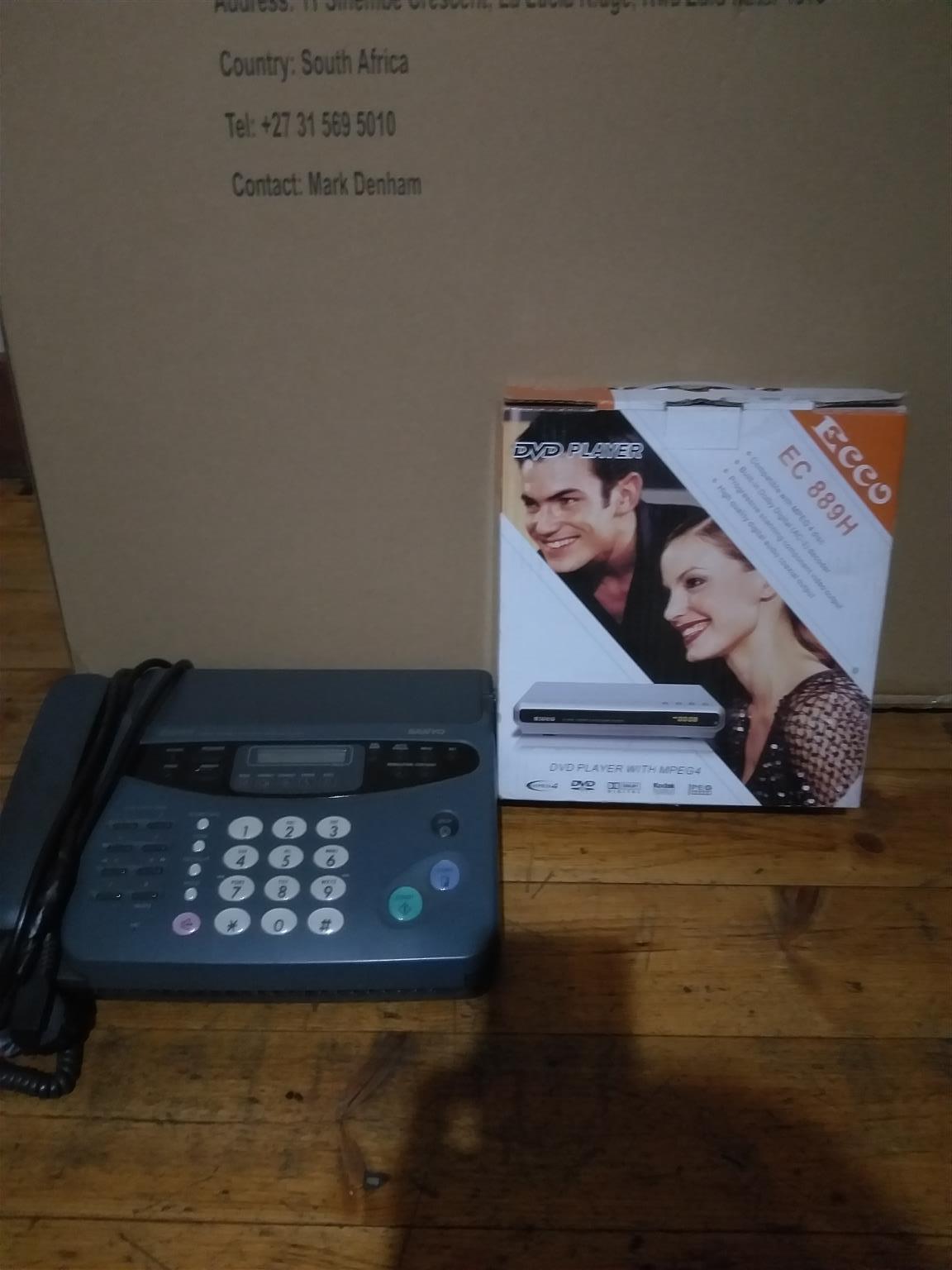 Fax plus dvd