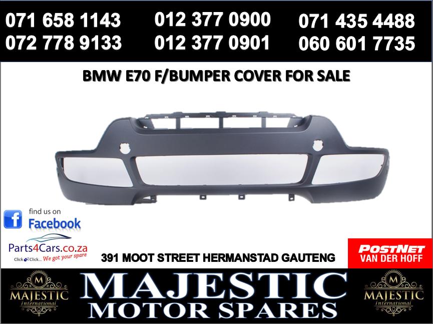 Bmw E70 bumper cover for sale