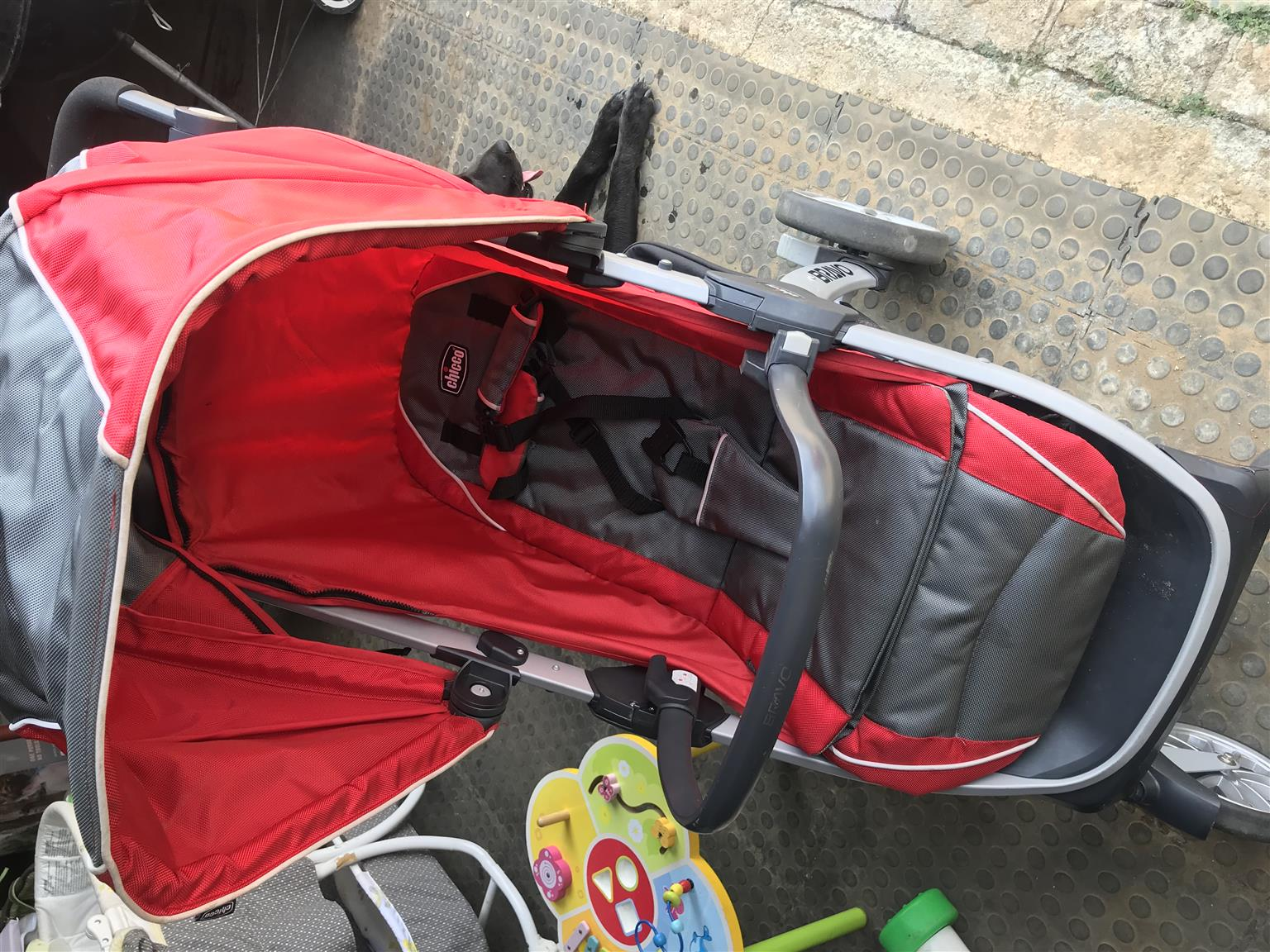 Graco pram and isofix car chair