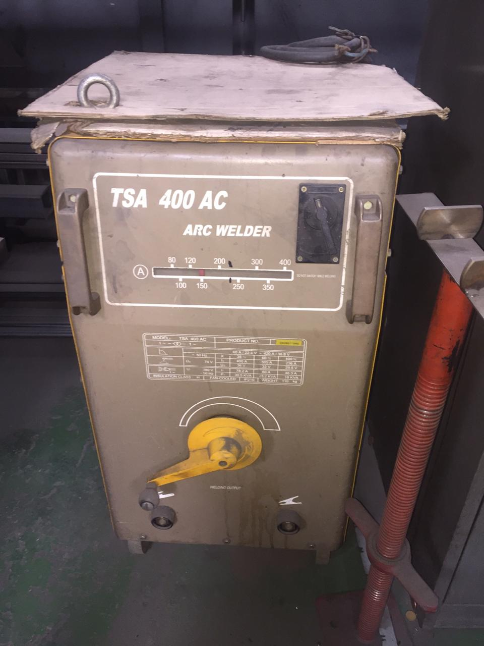 Thermamax TSA 400 AC ARC welder transformer
